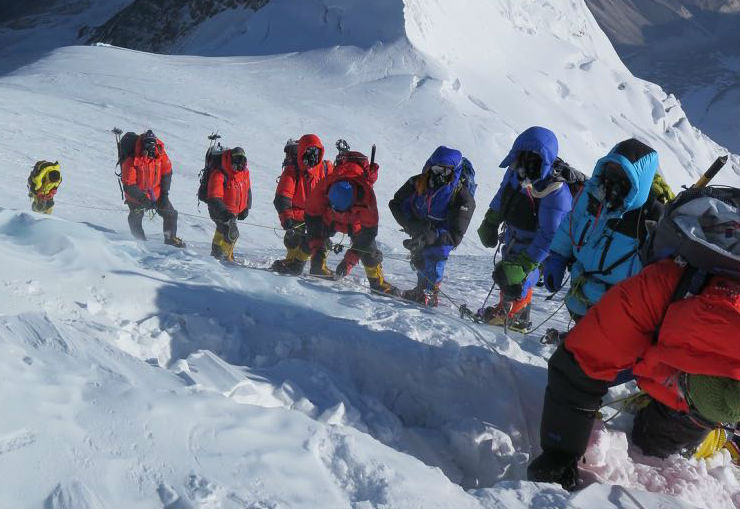 documentaire Expeditie Mountain Leaders